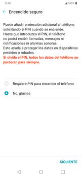Cómo cambiar el código de bloqueo de pantalla de tu teléfono - LG K40S - Passo 8