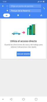 Uso de la navegación GPS - LG G7 ThinQ - Passo 10