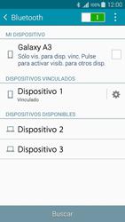 Conecta con otro dispositivo Bluetooth - Samsung Galaxy A3 - A300M - Passo 8