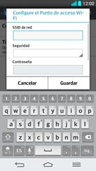 Configura el hotspot móvil - LG G2 - Passo 7