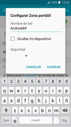 Configura el hotspot móvil - Samsung Galaxy J5 - J500F - Passo 8