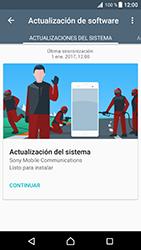 Actualiza el software del equipo - Sony Xperia XZ Premium - Passo 7