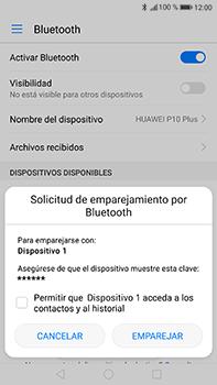 Conecta con otro dispositivo Bluetooth - Huawei P10 Plus - Passo 6