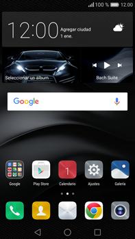 Envía fotos, videos y audio por mensaje de texto - Huawei Mate 8 - Passo 1