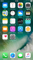 Uso de la navegación GPS - Apple iPhone 7 - Passo 2