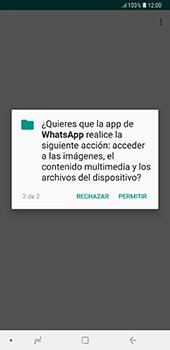 Configuración de Whatsapp - Samsung A7 2018 - Passo 9