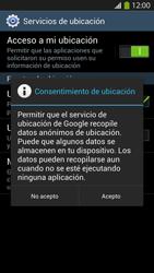 Uso de la navegación GPS - Samsung Galaxy S4  GT - I9500 - Passo 9