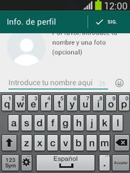 Configuración de Whatsapp - Samsung Galaxy Pocket Neo - S5310L - Passo 8