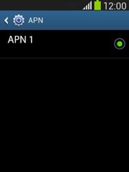 Configura el Internet - Samsung Galaxy Pocket Neo - S5310L - Passo 8