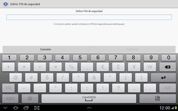 Desbloqueo del equipo por medio del patrón - Samsung Galaxy Note 10-1 - N8000 - Passo 12