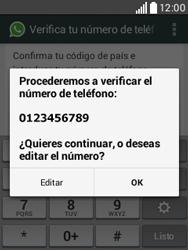 Configuración de Whatsapp - LG L20 - Passo 6