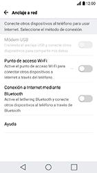 Comparte la conexión de datos con una PC - LG K10 2017 - Passo 4