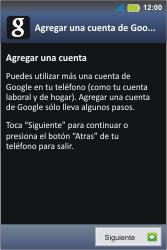 Crea una cuenta - Motorola MotoSmart Me  XT303 - Passo 3