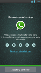 Configuración de Whatsapp - LG Optimus G Pro Lite - Passo 4