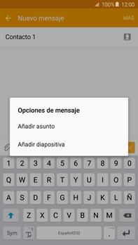 Envía fotos, videos y audio por mensaje de texto - Samsung Galaxy Note 5 - N920 - Passo 12