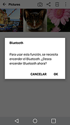 Transferir fotos vía Bluetooth - LG G5 SE - Passo 9
