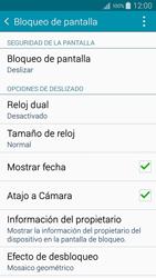 Desbloqueo del equipo por medio del patrón - Samsung Galaxy A5 - A500M - Passo 5