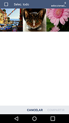 Transferir fotos vía Bluetooth - LG K10 - Passo 7