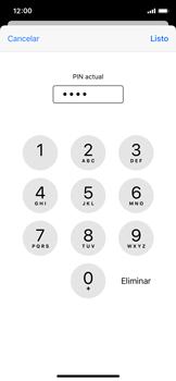 Cómo cambiar el código PIN de la SIM - Apple iPhone XS - Passo 6