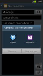 Envía fotos, videos y audio por mensaje de texto - Samsung Galaxy S 3  GT - I9300 - Passo 14