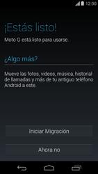 Activa el equipo - Motorola Moto G - Passo 8