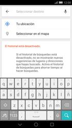 Uso de la navegación GPS - Huawei Ascend Mate 7 - Passo 12
