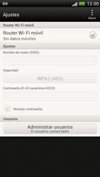 Configura el hotspot móvil - HTC One S - Passo 12