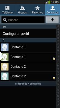 ¿Tu equipo puede copiar contactos a la SIM card? - Samsung Galaxy Note Neo III - N7505 - Passo 10
