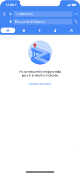 Uso de la navegación GPS - Apple iPhone XS Max - Passo 13