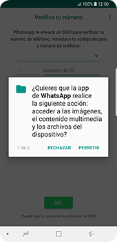 Configuración de Whatsapp - Samsung Galaxy S9 - Passo 6