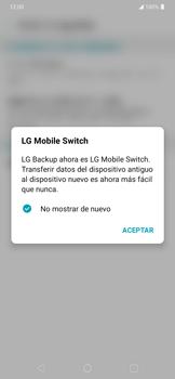 Realiza una copia de seguridad con tu cuenta - LG K40S - Passo 5
