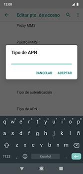 Configura el Internet - Motorola Moto G7 Plus - Passo 15