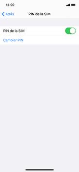Cómo cambiar el código PIN de la SIM - Apple iPhone XS - Passo 11
