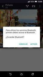Transferir fotos vía Bluetooth - HTC One A9 - Passo 12
