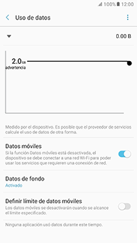 Desactiva tu conexión de datos - Samsung Galaxy A7 2017 - A720 - Passo 5