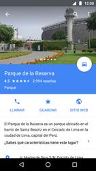 Uso de la navegación GPS - Motorola Moto G5 - Passo 12