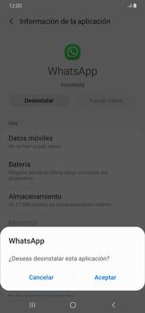 Desinstalar aplicaciones - Samsung Galaxy A30 - Passo 6