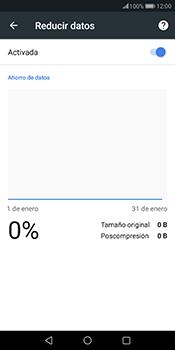 Minimizar el consumo de datos del navegador - Huawei Mate 10 Pro - Passo 8