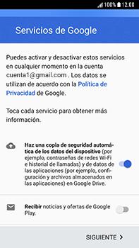 Crea una cuenta - Samsung Galaxy J7 Prime - Passo 16