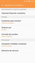 ¿Tu equipo puede copiar contactos a la SIM card? - Samsung Galaxy S7 - G930 - Passo 6