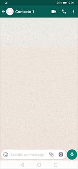Usar WhatsApp - Huawei P30 Pro - Passo 5