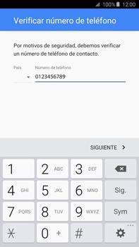 Crea una cuenta - Samsung Galaxy Note 5 - N920 - Passo 7