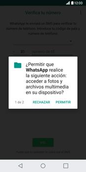 Configuración de Whatsapp - LG G6 - Passo 6
