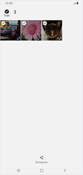Transferir fotos vía Bluetooth - Samsung Galaxy A10 - Passo 10