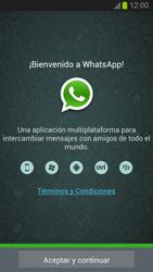 Configuración de Whatsapp - Samsung Galaxy S 3  GT - I9300 - Passo 4