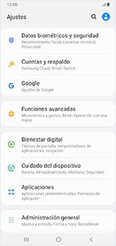 Realiza una copia de seguridad con tu cuenta - Samsung Galaxy A10 - Passo 4