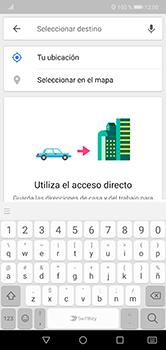 Uso de la navegación GPS - Huawei P20 Lite - Passo 12