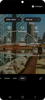 Modo profesional - Samsung Galaxy S20 - Passo 6