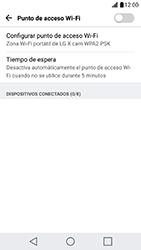 Configura el hotspot móvil - LG X Cam - Passo 8