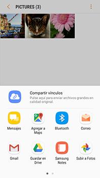Transferir fotos vía Bluetooth - Samsung Galaxy J7 Prime - Passo 10